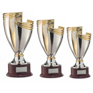 Guld- & Sølvbelagt Pokal # 420 - 500 mm