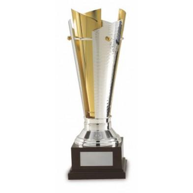 Guld- & Sølvbelagt Pokal # 470 mm