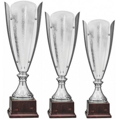 Sølv Pokal med glas # 380 - 460 mm