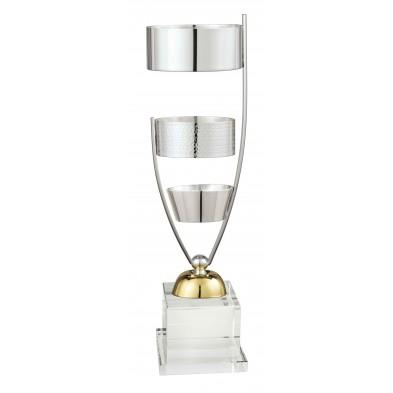 Sølv- og Guldbelagt Pokal # 360 mm