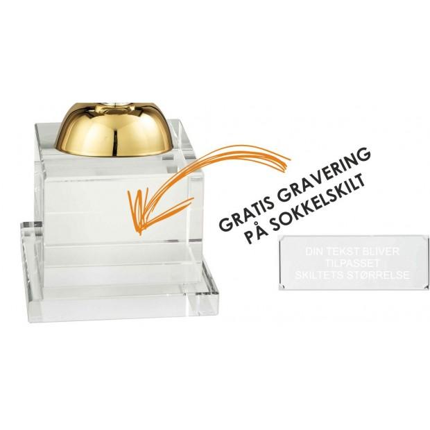 Sølv- og Guldbelagt Pokal # 410 mm