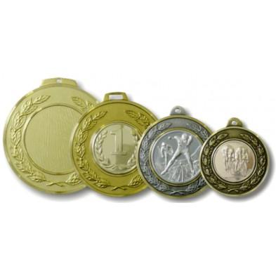 Messing medalje # Ø42-70 mm