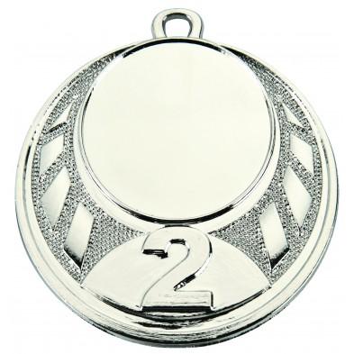 Medalje med placering # Nr. 1-3 # Ø45 mm