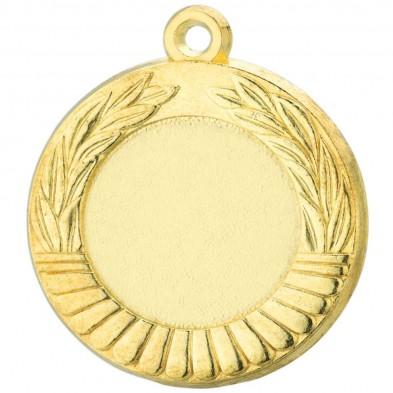 Medalje med halv løvkant # Ø40 mm # 91 Guld # 62 Sølv # 22 Bronze