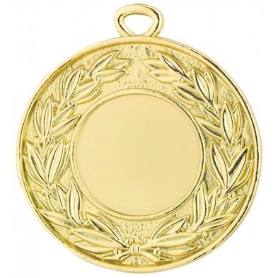 Medalje med løvkrans # Ø50 mm