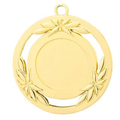 Medalje med flot krans # Ø50 mm