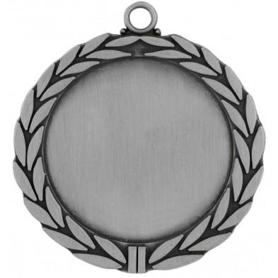 Medalje med løvkrans # Ø70 mm