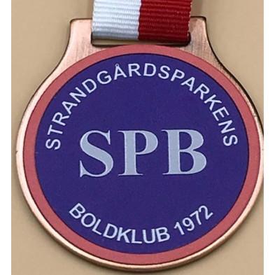 Medalje med printet logo # 50 - 70 mm