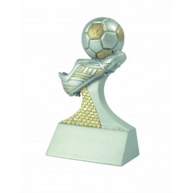 Fodboldstøvle statuette # 92 mm