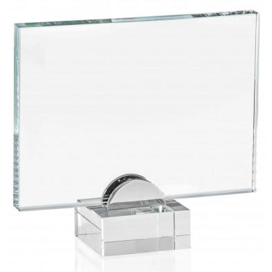 Firkantede Glasstatuetter # 150 - 220 mm