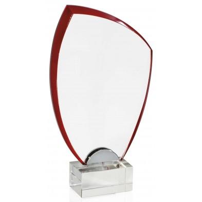 Glasstatuetter med Rødt Skær # 220 - 260 mm