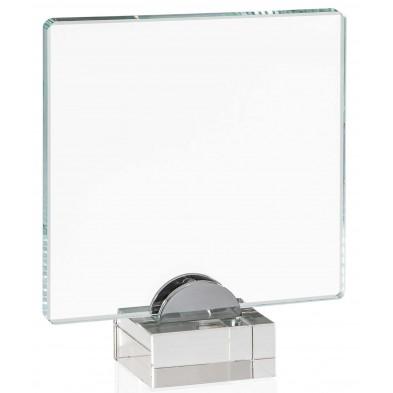 Firkantede Glasstatuetter # 190 - 240 mm