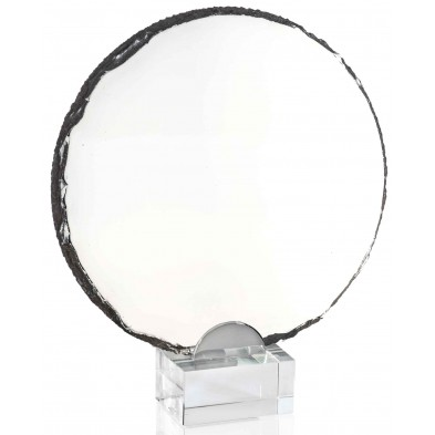 Runde Glasstatuetter # 190 - 230 mm