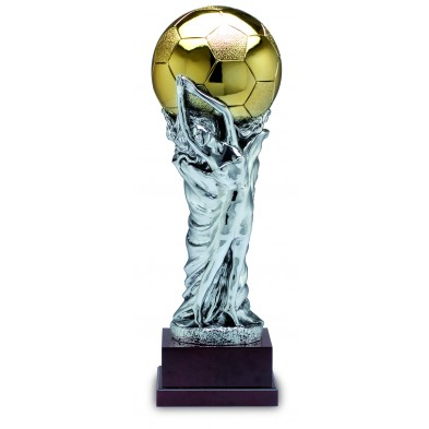 Statuette med Fodbold # 750 mm