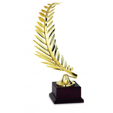 Statuette med Guldkvist # 350 mm