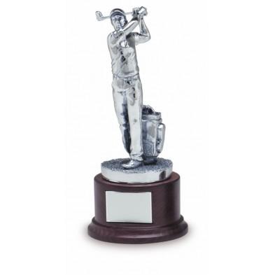 Statuette med Golfspiller # 300 mm