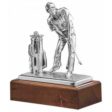 Statuette med Golfspiller # 280 mm