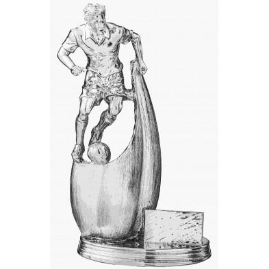 Statuette med Fodboldspiller # 300 mm