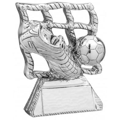 Statuette med Fodboldstøvle, Bold og Mål # 160 mm