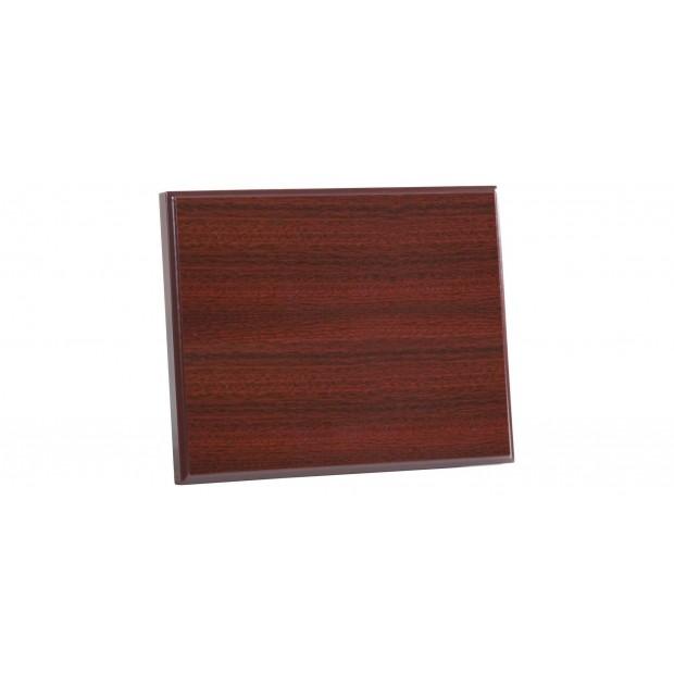 Træplakette med UV print # 100 - 200 mm