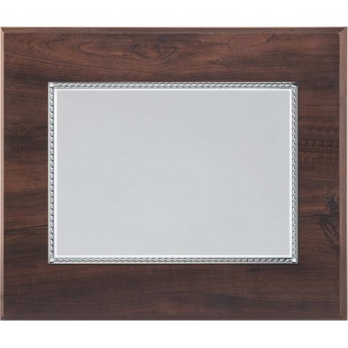 Træplakette med UV print # 125 - 265 mm