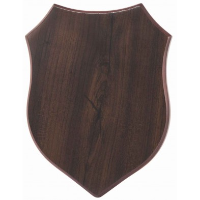 Træplakette med UV print # 190 - 260 mm