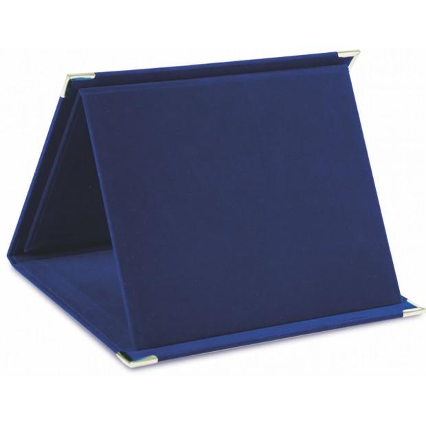 Velourbox og plakette med UV print # 140 - 250 mm