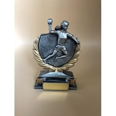 Kvindehåndboldt statuette # 100 x 135 # 1 stk.