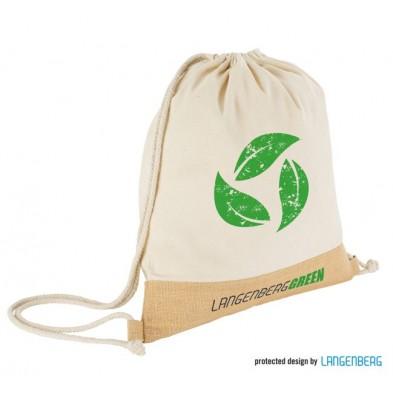 Sportstaske i Fairtrade Bomuld