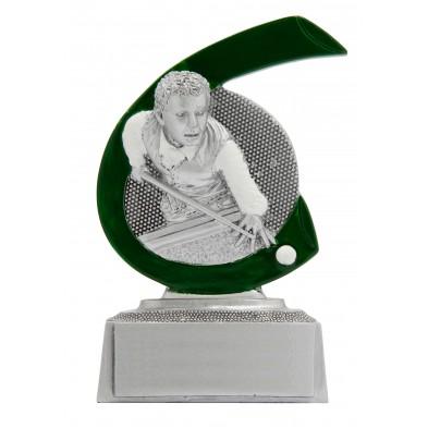 Lille figur # Billard # 75x100 mm