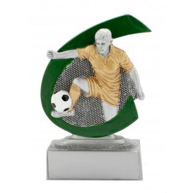 Lille figur # Fodboldspiller Herrer # 75x100 mm