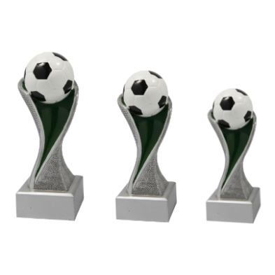 Fodboldstatuetter # 6 størrelser # 145 - 300 mm