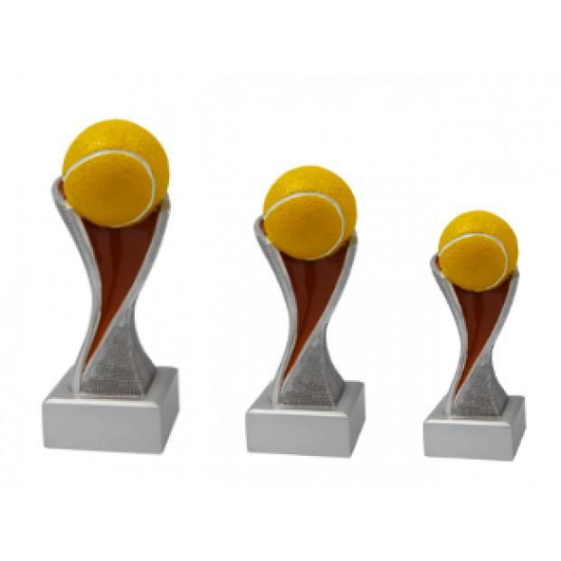 Tennis statuetter # 145 - 195 mm