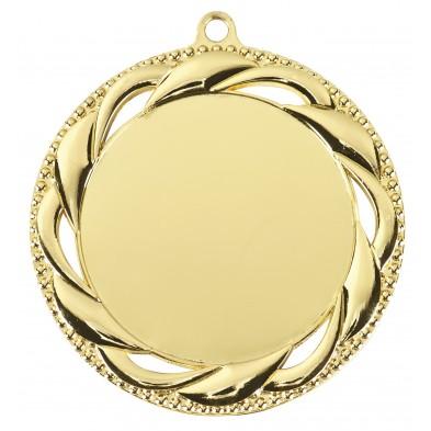 Medalje med poleret kant # Ø70 mm